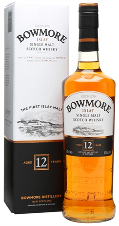 Bowmore Scotch Single Malt 12 Year
